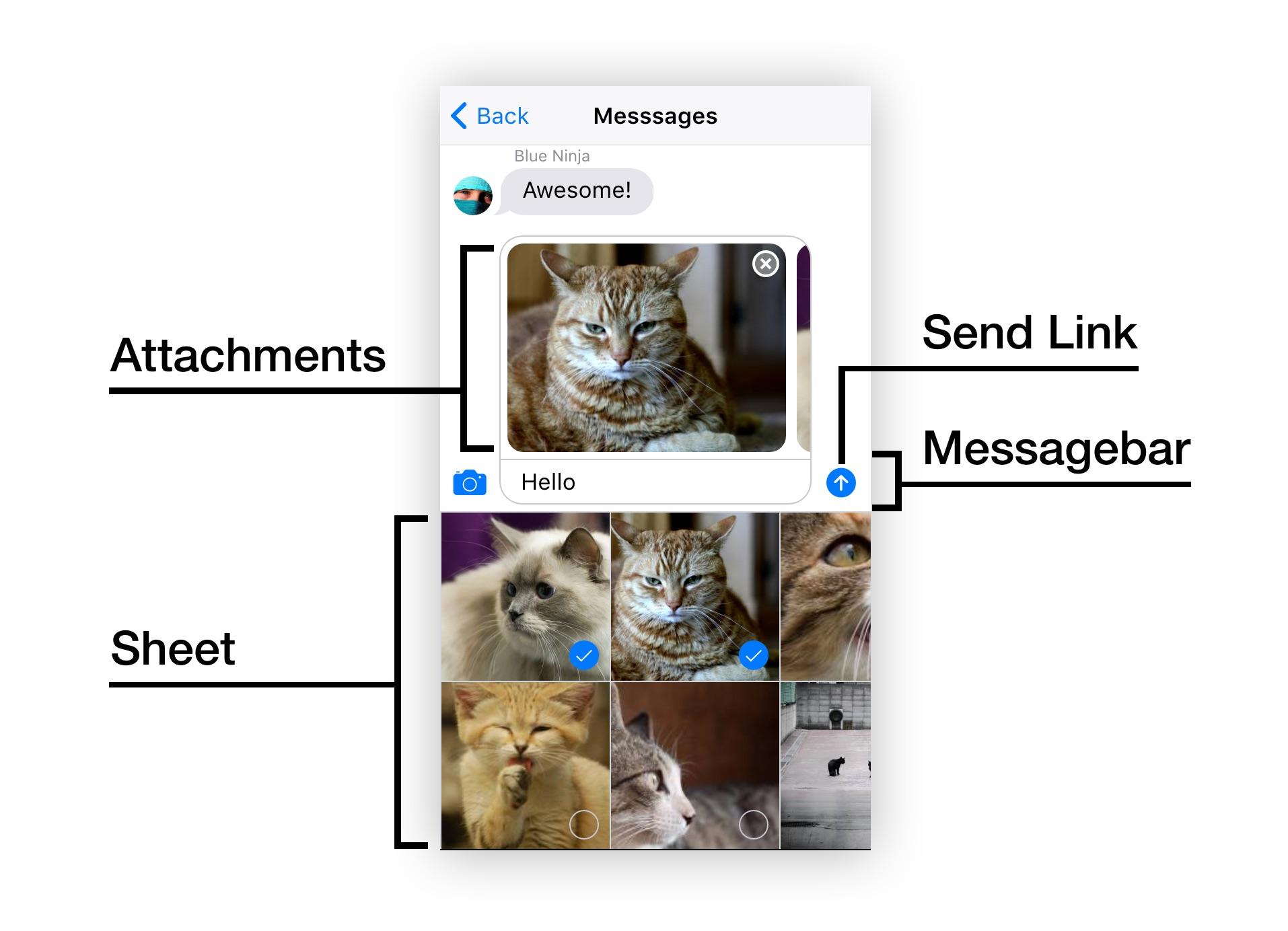 Messagebar Vue Component | Framework7 Vue Documentation